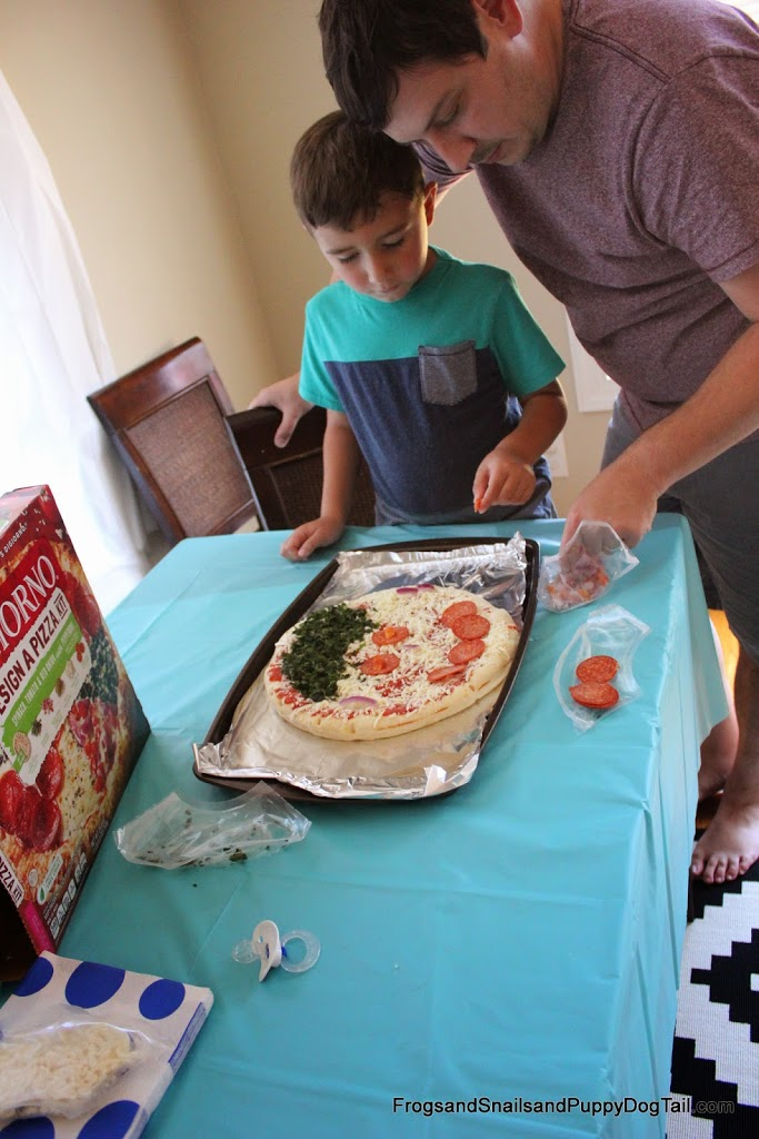 Family Pizza Party- Make a Silly Face Pizza #MyGoodLife #CollectiveBias #shop