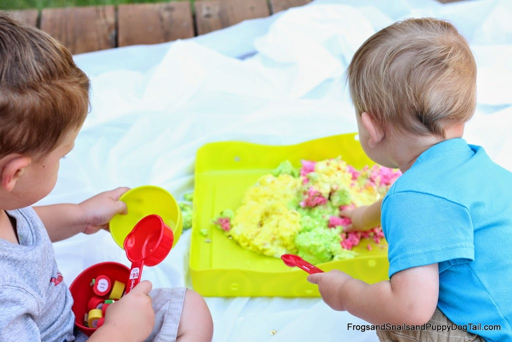 Apple Clean Mud Fall Sensory Play for Kids