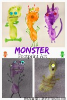 Monster-footprint-art-for-halloween