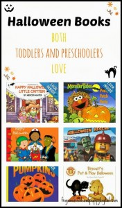Halloween Books- That Both Toddler and Preschooler Love by FSPDT