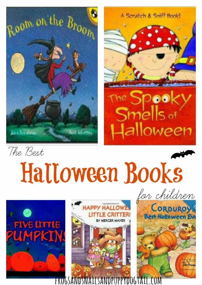 The Best Halloween Books for Children by FSPDT