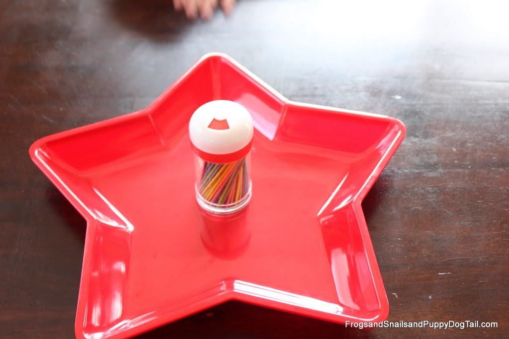 Fine Motor Skills Tooth Pick Drop