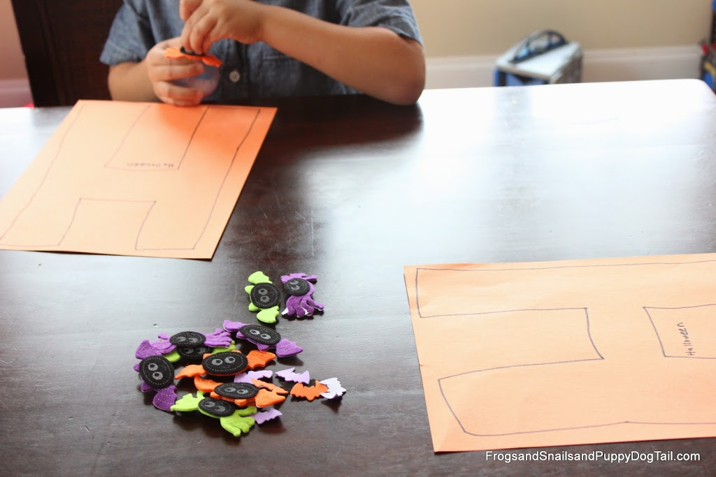 Letter H Hide and Seek Game and Craft for Kids