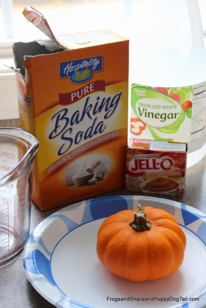 Pumpkin Spice Scented Pumpkin Volcano for Kids