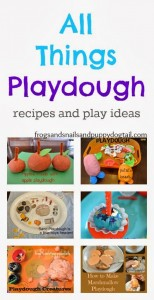All Things Playdough: recipes and play ideas