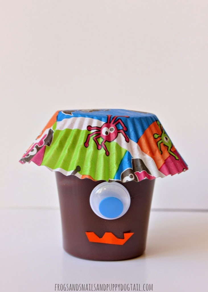 Monster Pudding Cups For Kids on FSPDT
