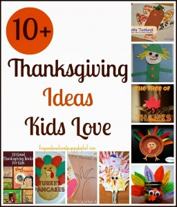 10+ Thanksgiving Activities Kids Love by FSPDT