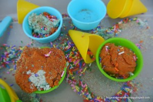 Fall Scented Ice Cream Dough- Sensory Play by FSPDT