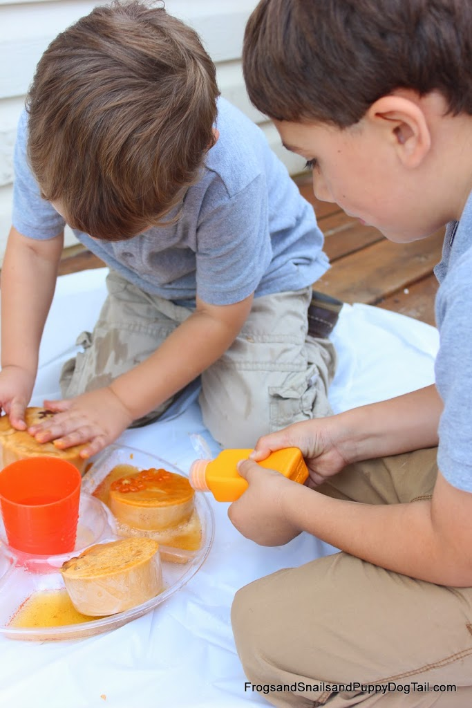Pumpkin Spice Fizzy Science for Kids