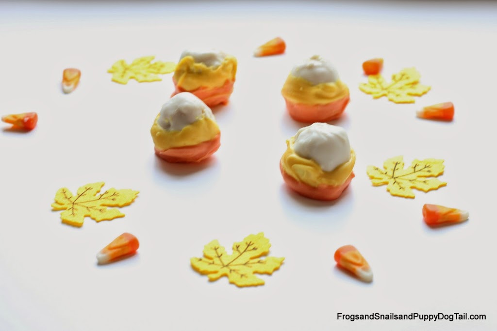 Candy Corn OREO Cookie Balls