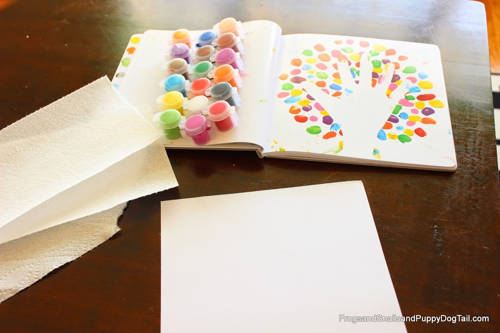 Mix It Up Book Inspired Fingerprint Art