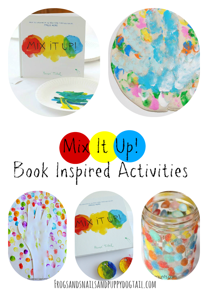 Mix It Up Book Inspired