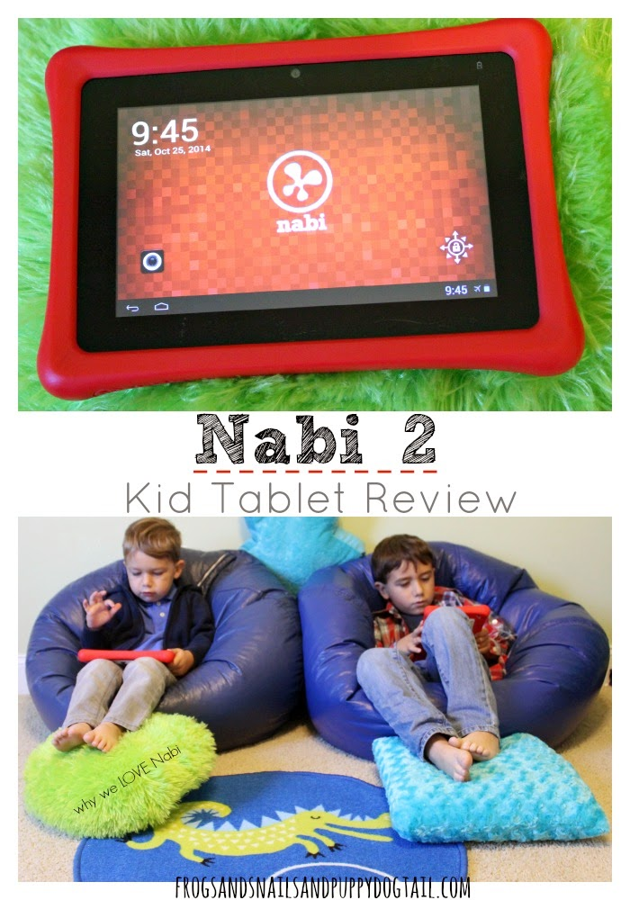 Nabi 2 Kid Tablet Review on FSPDT