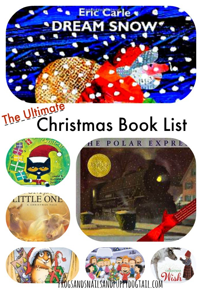 The Ultimate Christmas Book List for Ages 2-6 on FSPDT