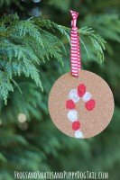 Fingerprint-Candy-Cane-Ornament