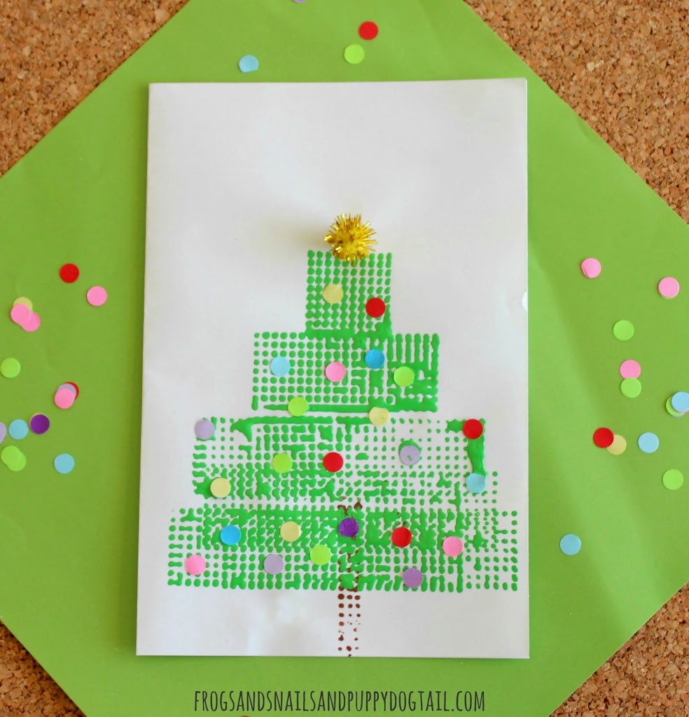 Christmas card ideas for children