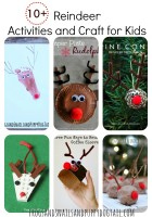 Reindeer Activities and Craft for Kids