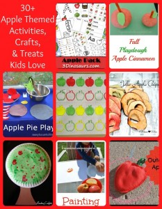 Apple Crafts, Activities, and More The Kids Love