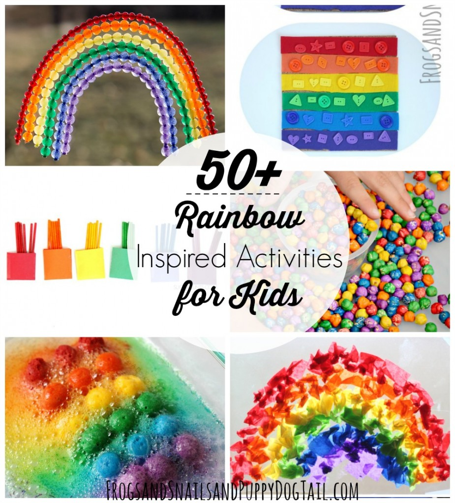 50+ rainbow inspired activities for kids