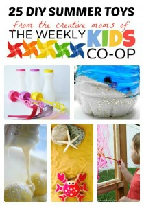 #Homemade #Kids Toys for #Summer Fun at The Weekly Kids Co-Op
