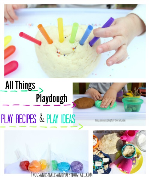 all things playdough for kids