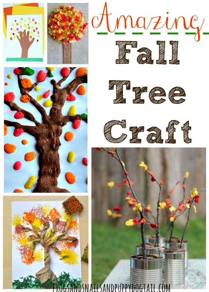 Amazing Fall Tree Crafts for Kids