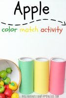 Apple Color Match Activity