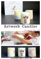 Artwork Candles inspired by Ish