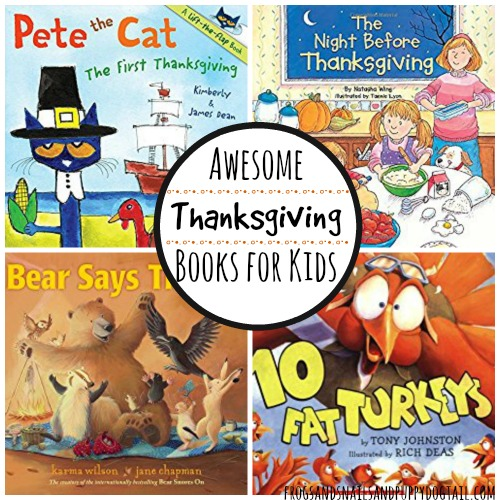Awesome Thanksgiving Books for Kids
