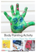 Body Painting Activity forI Aint