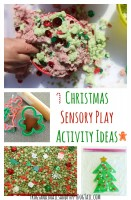 Christmas Sensory Play Activity Ideas for Kids
