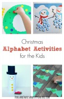 Christmas Alphabet Activities for the kids
