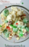 Christmas Chocolate Popcorn Recipe