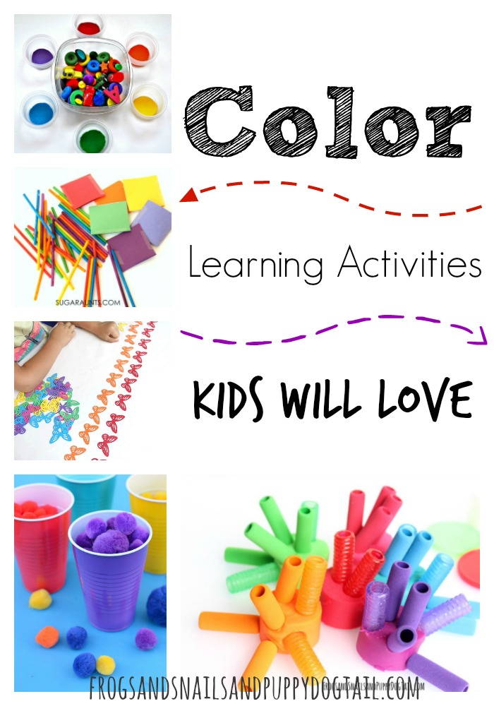 color learning activities kids will love