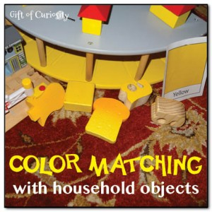 Color matching with household objects >> Gift of Curiosity
