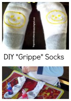 DIY Grippe Socks for Kids