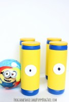 DIY Minion Bowling Set