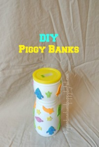 DIY or Homemade Piggy Banks