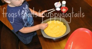 Birthday Playdough Cakes- fine motor skills by FSPDT