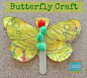 Butterfly Craft a great activity