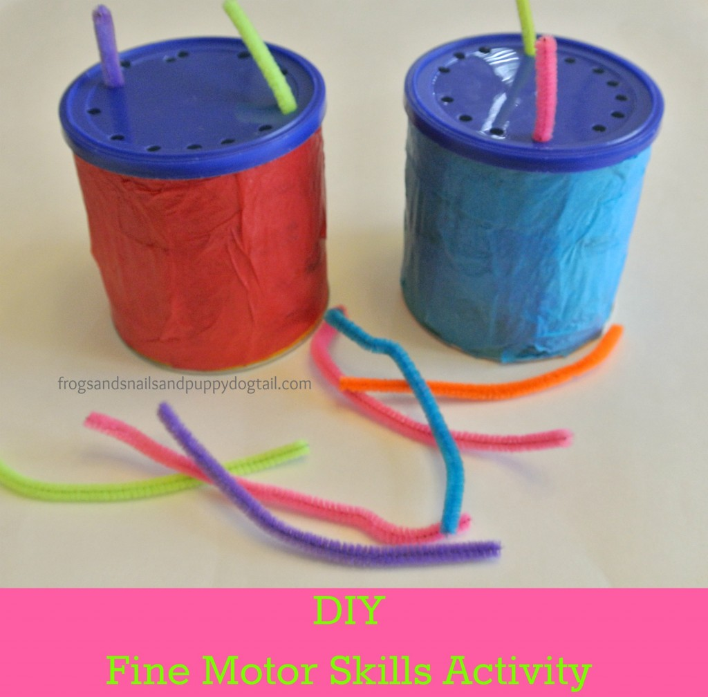 Diy Fine Motor Skills Activity For The Kids Fspdt