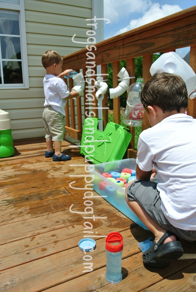 water play activity idea for kids