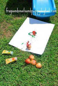 New Twist To Painting With Apples