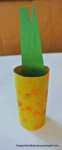 Corn Craft From Toilet Paper Roll by FSPDT