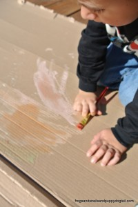 Scented Liquid Chalk Recipe- great for sensory art by FSPDT