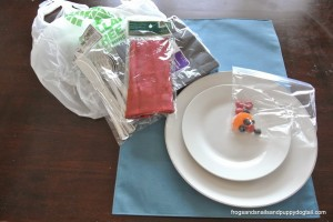 Snowman Place Mat Setting {With Items From Dollar Tree} and $100 Gift Card Giveaway