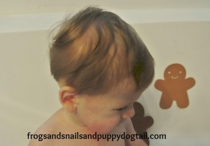 Gingerbread Bath Paint~ baby safe by FSPDT