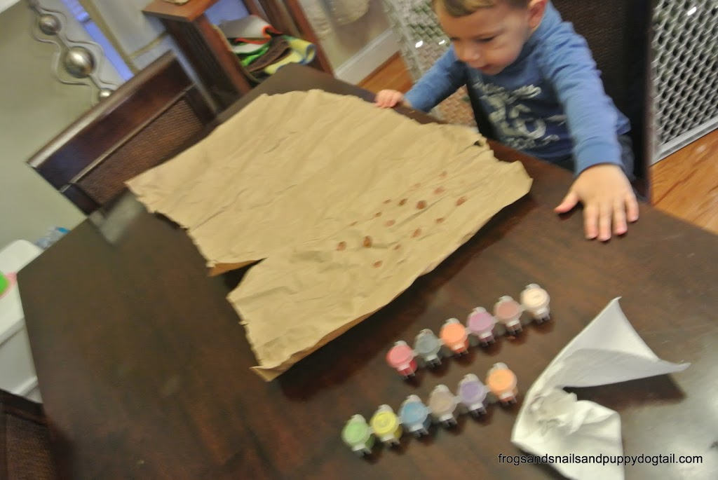 Diy Wrapping Paper The Kids Can Make Fspdt