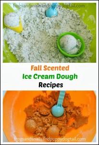 Caramel Apple and pumpkin spice Ice Cream Dough- my secret ingredients by FSPDT