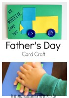 Father's Day Card Craft for Kids